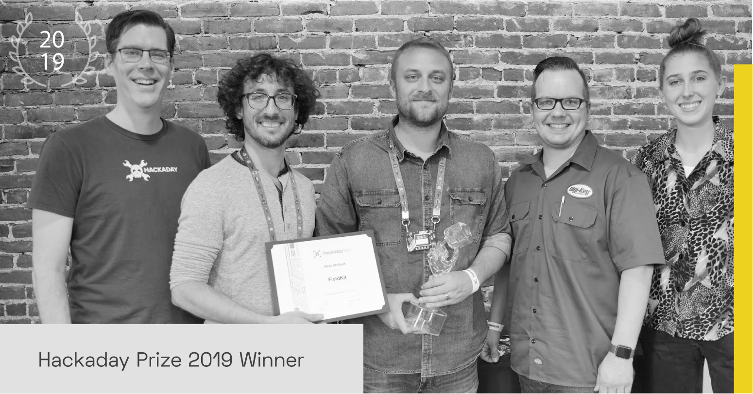Supplyframe Designlab Hackaday Prize 2020